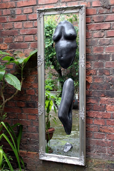 Skulptur Spiegel